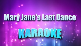 Tom Petty & Heartbreakers - Mary Jane's Last Dance (Karaoke & Lyrics)
