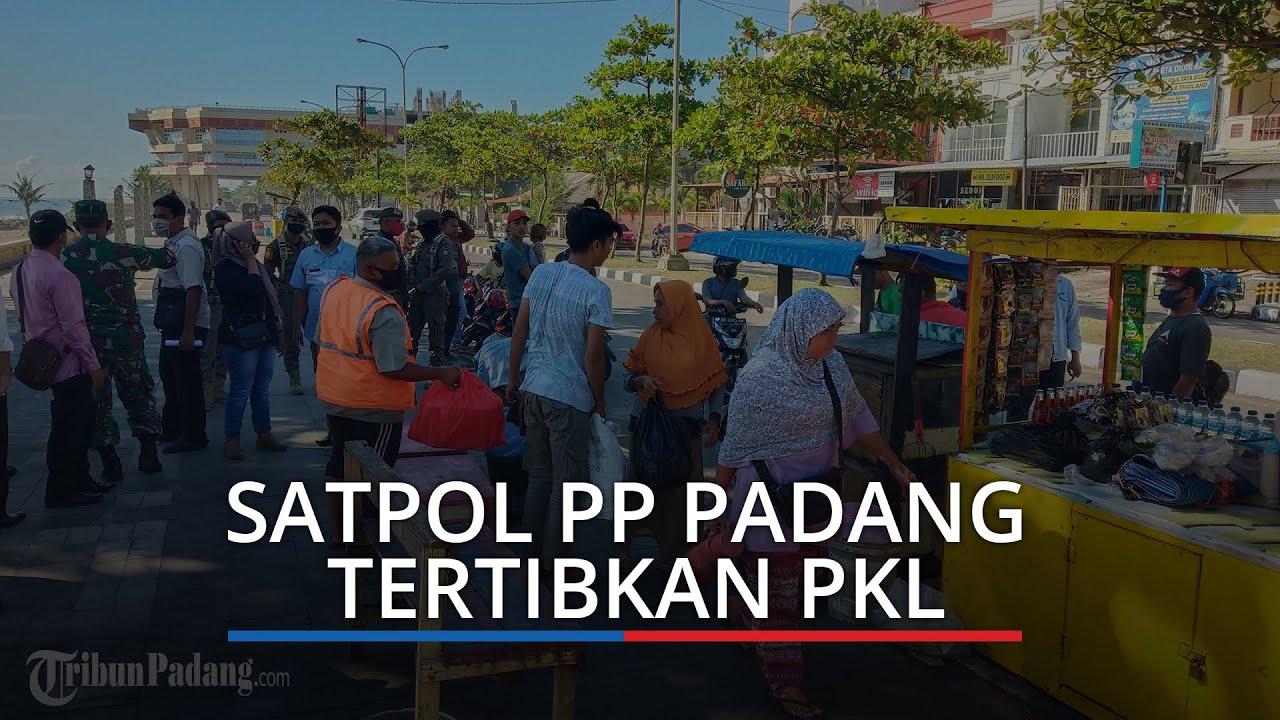 Satpol PP Padang Giatkan Patroli di Taplau, Alfiadi: Diduga PKL Main Kucing- kucingan