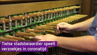 Stadsbeiaardier zorgt voor troost en sfeer in stille coronatijd