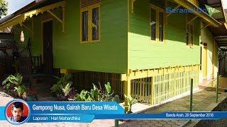 Gampong Nusa, Gairah Baru Desa Wisata