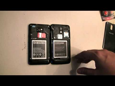 Youtube Video Samsung Galaxy S2 LTE Vodafone Ware in schwarz