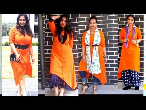 #style #howto #kurti  6 Different ways to style kurti |sassysaania