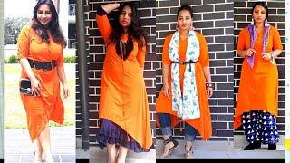 #style #howto #kurti  6 Different ways to style kurti |sassysaania