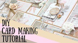 DIY Card Making Tutorial