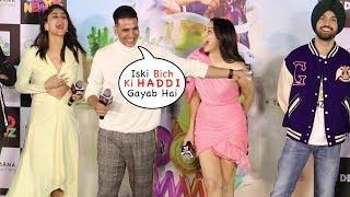Akshay NAILED It | Akshay Kumar's Back To Back Funny Moments 😂😂😂 Good Newwz Trailer Launch
