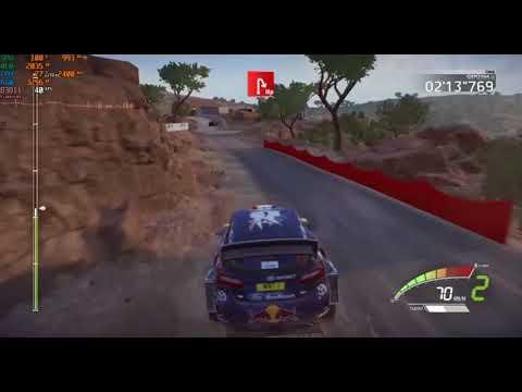 WRC 7 Gameplay on Nvidia Geforce 820m 2GB - Intel Core I3 4030U