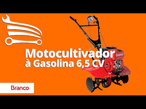 Motocultivador Tratorito à Gasolina 6,5CV BTTG 6.5 - Video