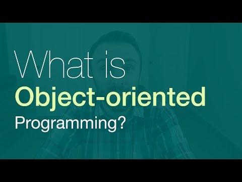 What is Object-oriented Programming? (JavaScript Tutorial)