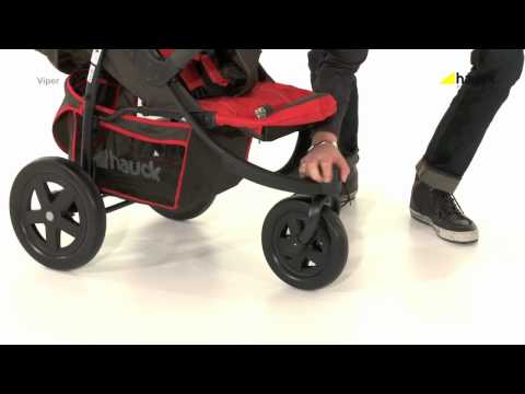 Hauck Viper 3 Wheeler Pushchair Video Review – Online4baby – YouTube