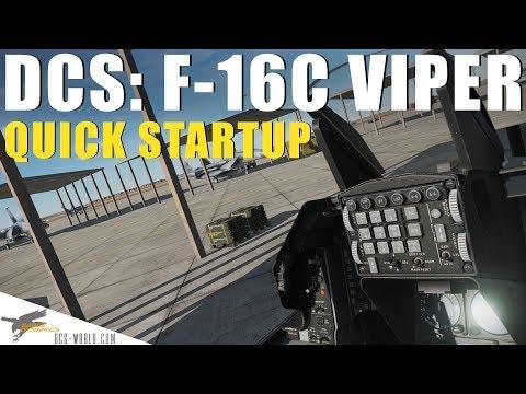 DCS: F-16C - Quick Startup