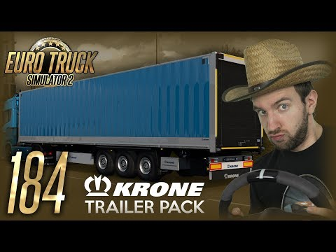 KRONE TRAILER PACK!   Euro Truck Simulator 2 #184