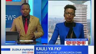 Zilizala Viwanjani: Shirikisho la FKF lazungumzia Chan