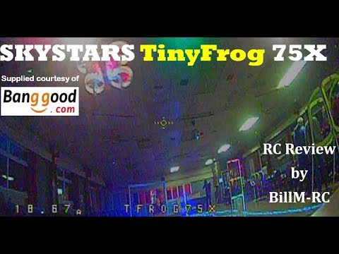 Skystars TinyFrog 75X review - Indoor, Racetrack & FPV test