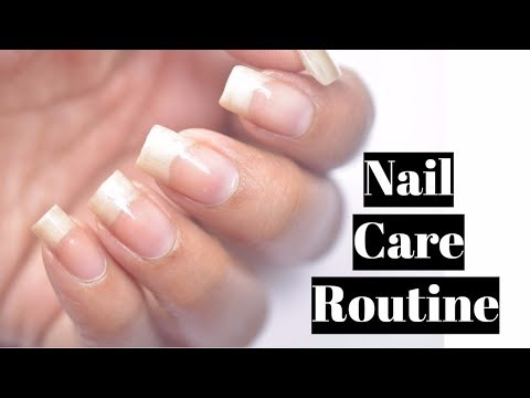 My Weekly Nail Care Routine