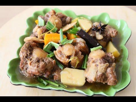 Oxtail Stew with Beer – Đuôi Bò Hầm Bia