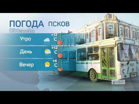 Прогноз погоды / 03.09.2021