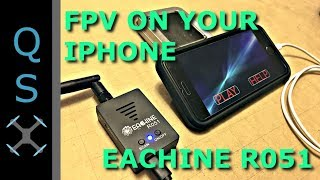 Eachine R051 Setup & Review - FPV Receiver for iPhone, iPad, iOS, Android