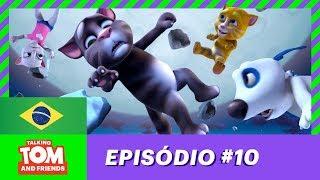 No Mundo da Lua - Talking Tom and Friends (Temporada 1 Episódio 10)