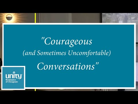 """Courageous (and Sometimes Uncomfortable) Conversations"" – Rev. Paula Mekdeci – July 26, 2020"
