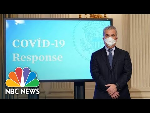 Live: White House Covid-19 Response Team Holds Briefing | NBC News