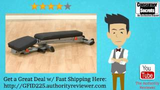 [Review & SALE] Body Solid GFID225 Folding Adjustable Weight Bench