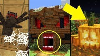13 SPOOKY Minecraft Build Hacks!