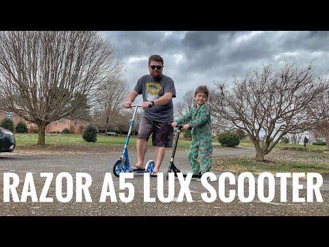 I got a scooter! Razor A5 Lux