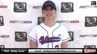 2023 Bailey Jones First Base and Outfield Softball Skills Video - AASA Ayala