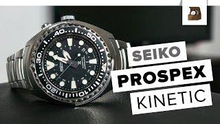 SEIKO PROSPEX Kinetic // Deutsch // Testbericht // 4K