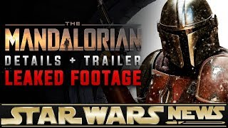 The Mandalorian:  LEAKED FootageTrailer + First Details | Star Wars News
