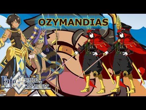 Fate/Grand Order - Ozymandias Noble Phantasm (Ramesseum