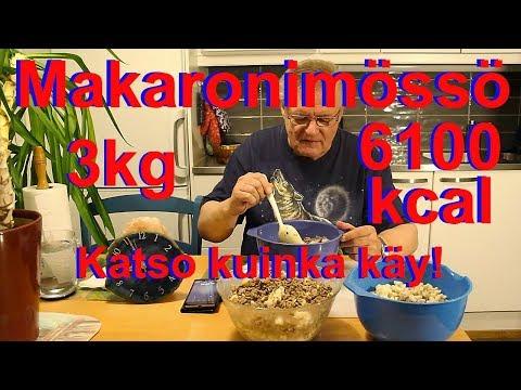 3kg Makaroonimössöhaaste