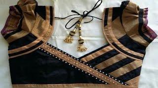 Blouse designs for silk sarees | Ladies Corner