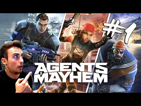 Gameplay de Agents of Mayhem