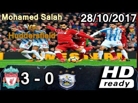 Mohamed Salah vs Huddersfield 3-0 ● All Goals Extended Highlights GOLES 2017-2018 HD Cris Tv