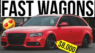 10 CHEAP Estate Cars with INSANE Performance! (Under £10,000)