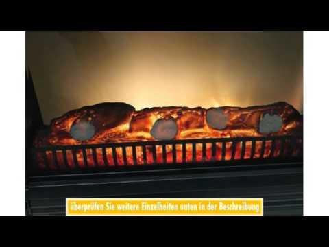 Kaminkonsole inklusive Classic Fire Elektrokamin mit simulierten Kaminfeuer 1800W MDF Kaminumrandung