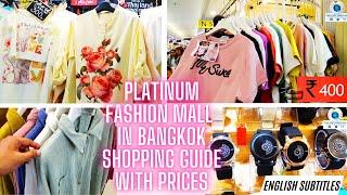 Cheap & Best Shopping at Platinum Fashion Mall Bangkok | Cheap & Best Shopping Guide & Tips | Part-1