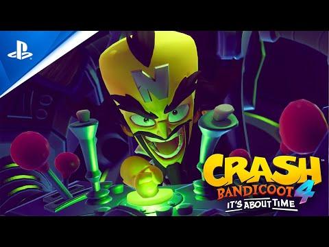 Bande-annonce PlayStation 5 de Crash Bandicoot 4: It's About Time