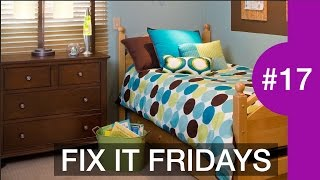 SMALL Boys Bedroom Decorating Ideas | Interior Design | Fix It Fridays #17