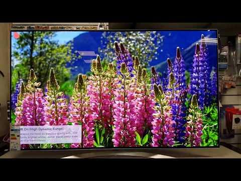 LG OLED OLED55B7V Unboxing Quick Setup
