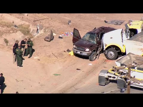 Police say 13 killed when semitruck hit SUV carrying 25 people