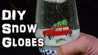DIY Christmas Snow Globe Decoration - Video Youtube