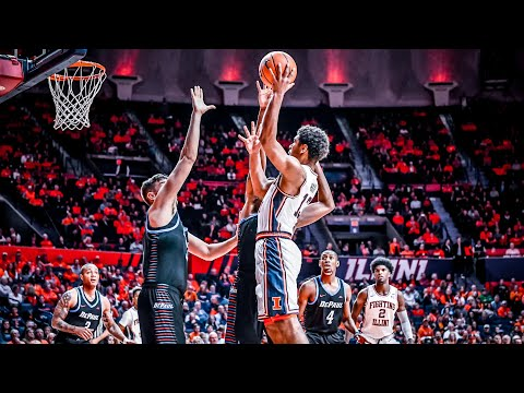Illinois Basketball Highlights vs DePaul 11/17/17
