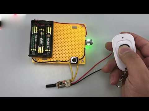 Universal Fernbedienung Funksteuerung DC12V Funkempfänger Licht Mini Handsender 433MHz bauen