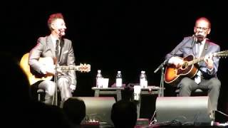 "John Hiatt & Lyle Lovett - ""Real Fine Love"" - Genesee Theater, Waukegan, IL - 11/03/17"