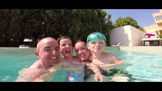 preview picture of video 'GoPro : Pool Action From Holiday in Majorca, Port De Pollenca, 2014'