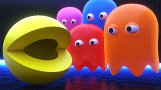 Pacman vs Ghosts [Fight for the Last Dot]
