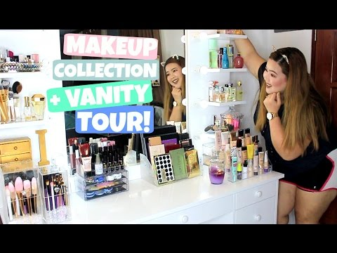 My Makeup Collection + Vanity Tour! (PHILIPPINES)