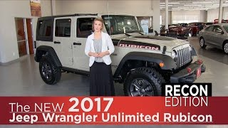 New 2017 Jeep Wrangler Unlimited Rubicon Recon Edition - Mpls, Elk River, Coon Rapids, St Cloud, MN